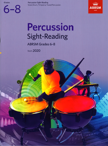 ABRSM Percussion Sight-Reading from 2020 Grades 6-8
