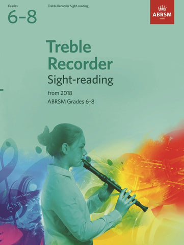 ABRSM Treble Recorder Sight-Reading G6-8 (2018+)