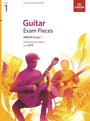 ABRSM Guitar Exam Pieces from 2019 Grade 1