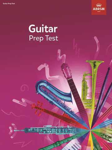 ABRSM Guitar Exam Prep Test from 2019