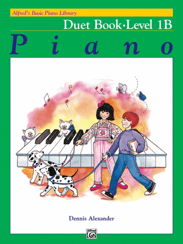 Alfred's Basic Piano Library Duet 1B