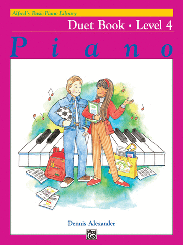 Alfred's Basic Piano Library Duet 4