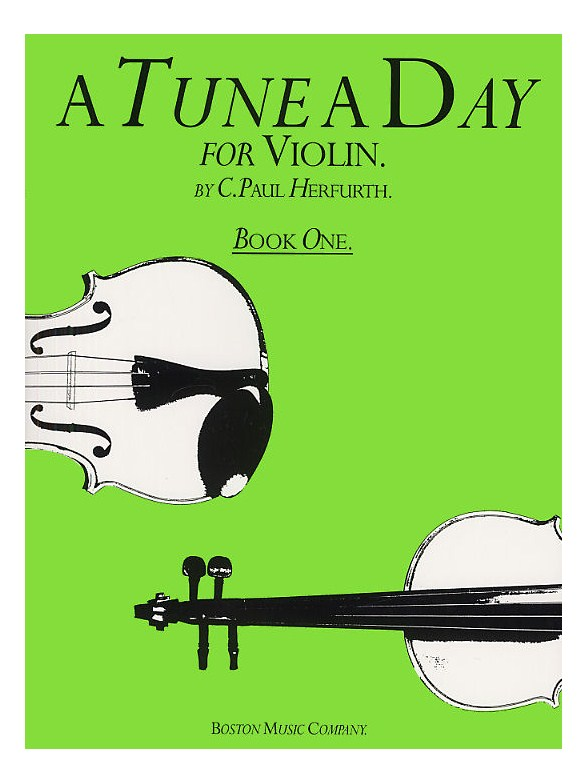A Tune A Day Violin Book 1