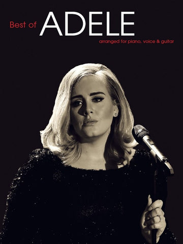 Best of Adele - piano/vocal songbook