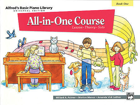 Alfred All-In-One Course Book 1 - kids