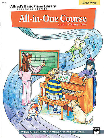 Alfred All-In-One Course Book 3 - kids