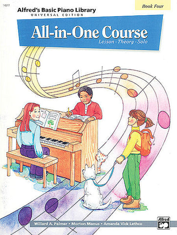 Alfred All-In-One Course Book 4 - kids