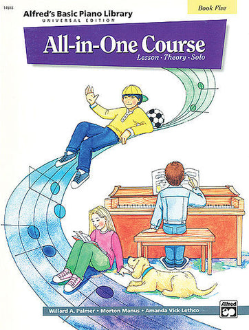 Alfred All-In-One Course Book 5 - kids