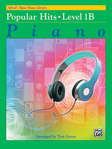 Alfred's Basic Piano Library Popular Hits 1B