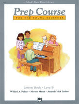 Alfred Prep Course Lesson Book F