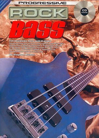 Progressive Rock Bass - Book/CD