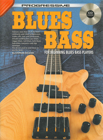 Progressive Blues Bass - Book/CD