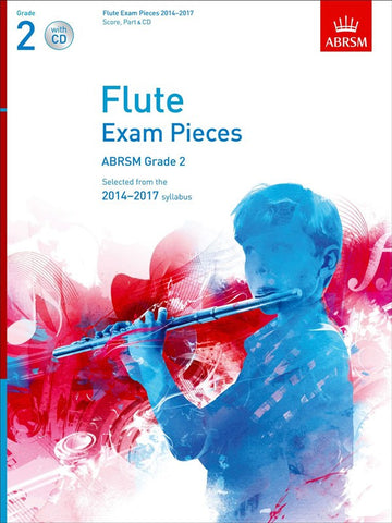 ABRSM Flute Exam Pieces 2014-17 Grade 2 Book/CD