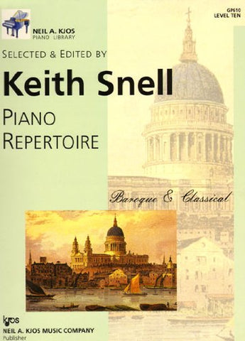 Piano Repertoire - Baroque & Classical - Level 10