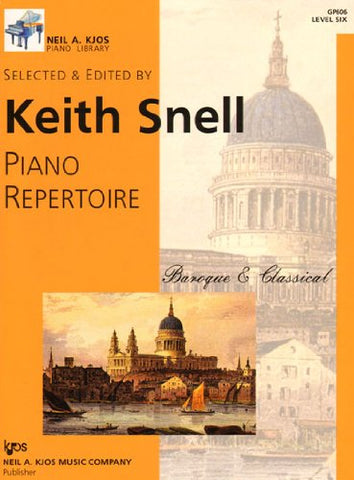 Piano Repertoire - Baroque & Classical - Level 6