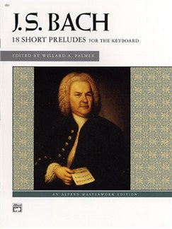 Bach - 18 Short Preludes (Alfred)