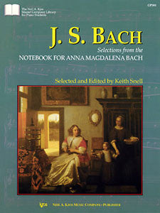 Bach - Selections from Anna Magdalena (KJOS)