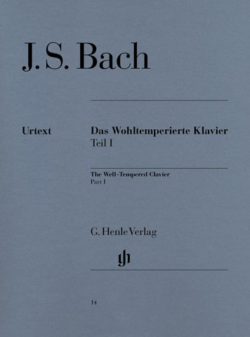 Bach - The Well-Tempered Clavier Part 1 (Henle)