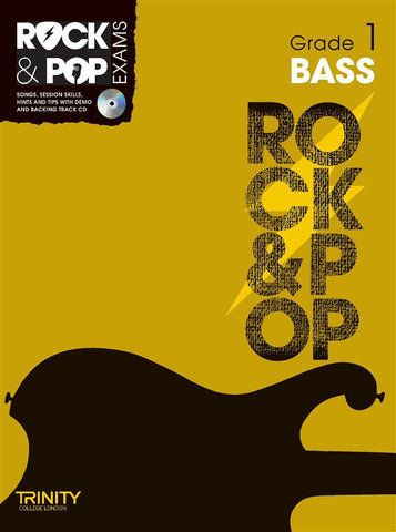 Rock & Pop Bass Guitar Grade 1