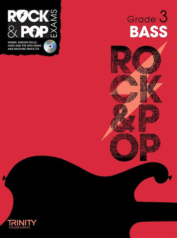Rock & Pop Bass Guitar Grade 3