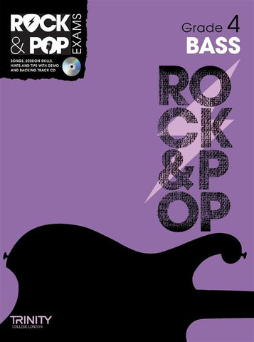 Rock & Pop Bass Guitar Grade 4 2012-2017