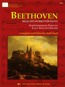 Beethoven - Selected Works for Piano (KJOS)