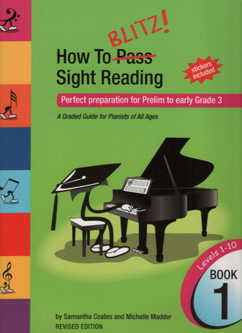 How to Blitz Sight-Reading Book 1