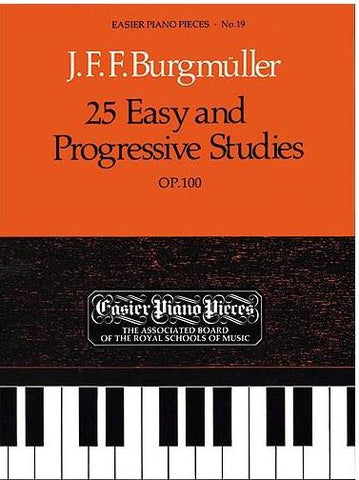 Burgmuller - 25 Easy and Progressive Studies Op. 100 (ABRSM)