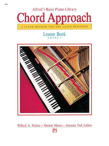 Alfred's Basic Piano Library Chord Approach Lesson 1
