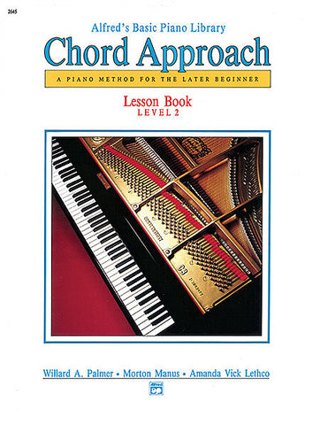 Alfred's Basic Piano Library Chord Approach Lesson 2