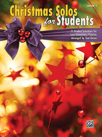 Christmas Solos for Students Book 1
