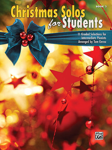 Christmas Solos for Students Book 3