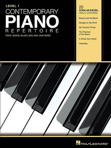 Contemporary Piano Repertoire - Level 1
