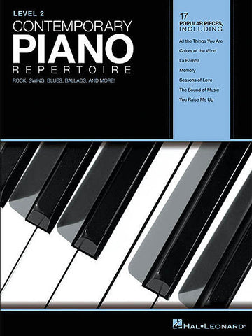 Contemporary Piano Repertoire - Level 2