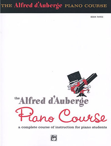 Alfred D'Auberge Piano Course Book 3