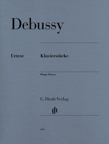 Debussy Piano Pieces