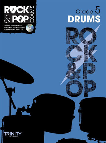 Rock & Pop Drums Grade 5 2012-2017