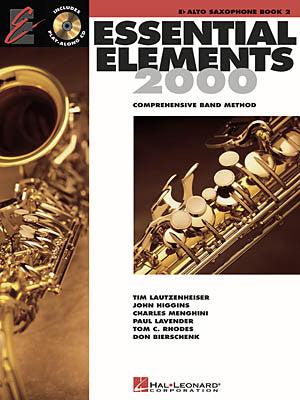 Essential Elements 2000 Alto Sax 2: Bk/CD