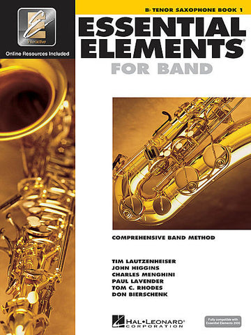 Essential Elements For Band Tenor Sax Book One