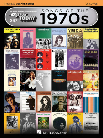 EZ Play Today 367: Songs of the 1970s - The New Decade Series