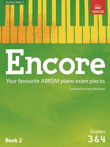 ABRSM Encore Piano, Book 2 (Grades 3-4)