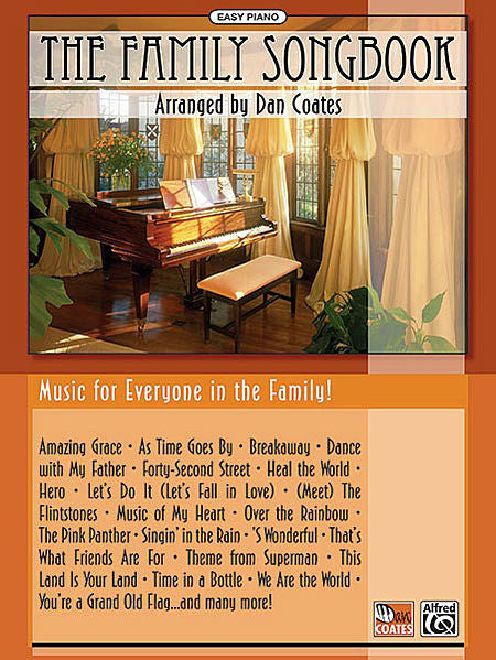 The Family Songbook Easy Piano