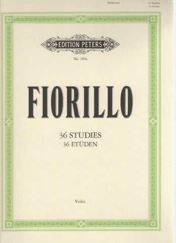 Fiorillo - 36 Studies for Violin