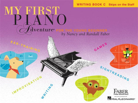 My First Piano Adventures Writing Book C
