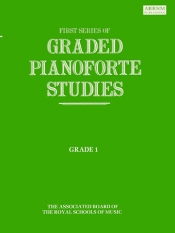 First Series of Graded Pianoforte Studies G1 (ABRSM)