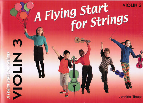 A Flying Start for Strings Violin Book 3