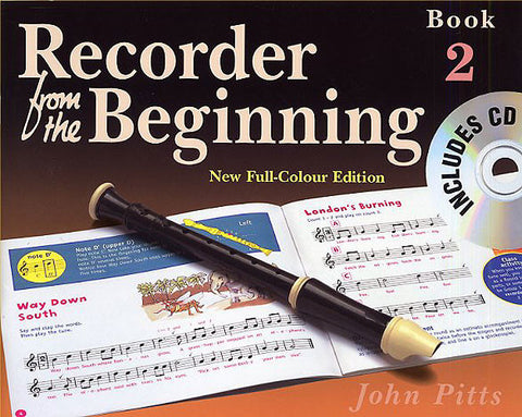 Recorder from the Beginning Book Two with CD