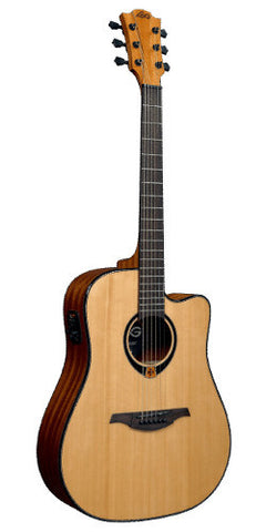 Lag Dreadnought Acoustic/Electric Guitar Model T80DCE