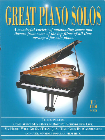 Great Piano Solos The Film Book