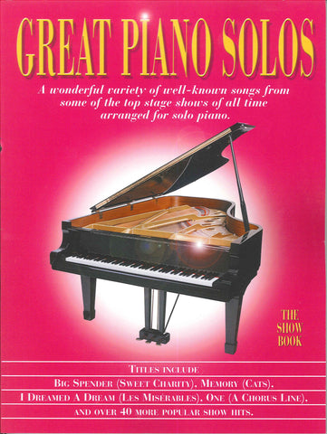 Great Piano Solos The Pink Book